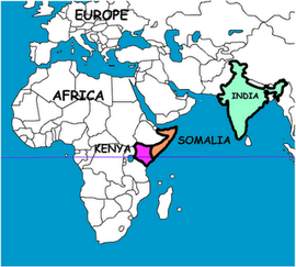 225580g270 indian ocean is to its east somalia to its north east tanzania to its south and ethiopia to its north its capital is nairobi the equator passes through gumiabroncs Image collections